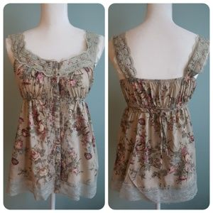 FANG Camisole W/Lace